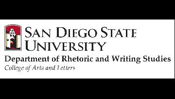 San Diego State University, Department of Rhetoric and Writing Studies logo
