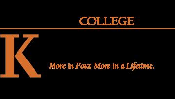 Kalamazoo College Department of English logo