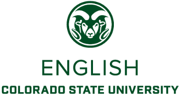 Colorado State University English Department logo